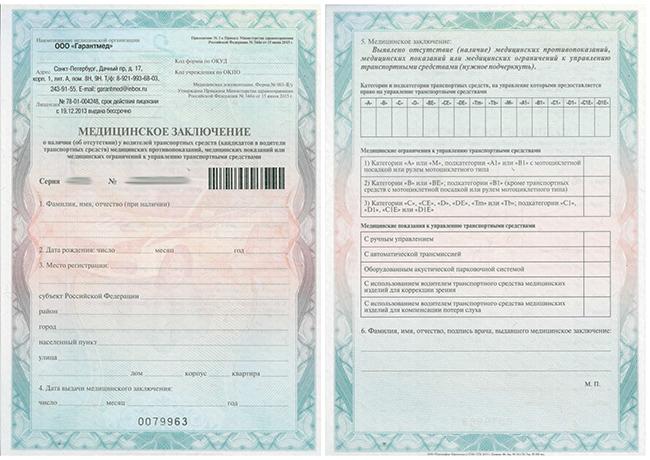 Где купить справку для водительских прав Калязин